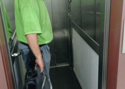 inspección ascensor
